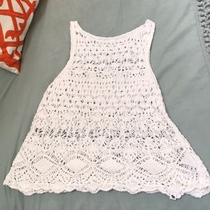 Knitted tank-top